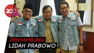Prabowo Punya Jubir, Sandiaga: Dahnil Mengerti Perjuangannya