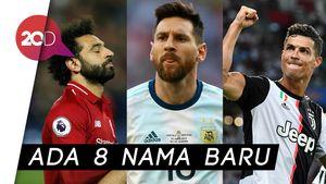 Deretan Calon Pemain Terbaik FIFA, Tak Ada Nama Neymar