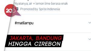 Bikin Geger! Cuitan #matilampu Jadi Trending Topic Indonesia