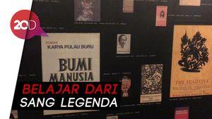 Jelajahi Jejak Karya Pramoedya Ananta Toer Lewat Pameran Seni