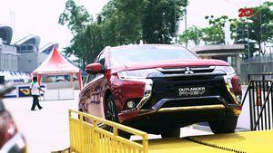 Menjajal Outlander PHEV, Mobil Ramah Lingkungan Mitsubishi