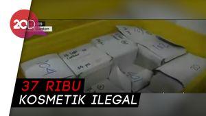 BPOM dan Polda Metro Bongkar Gudang Kosmetik Ilegal di Tangerang