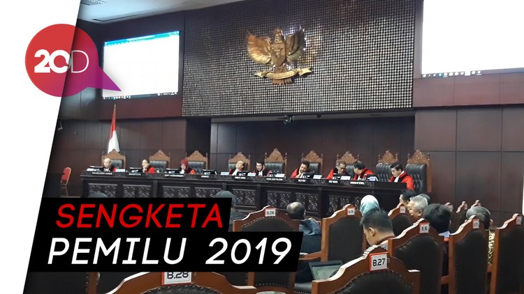 MK Bacakan Putusan 67 Perkara Pileg 2019