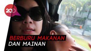 Nagita Slavina Pilih ke Singapura saat Jakarta Mati Lampu
