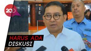 Fadli Zon Siap Kerjasama dengan PDIP soal Pimpinan MPR