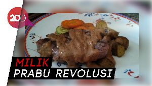 Puas Makan Steak Porsi Jumbo Saus BBQ di Prabu Steak