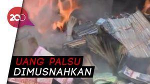 BI dan Polda Sumut Musnahkan Uang Palsu Senilai Rp 1,5 Miliar