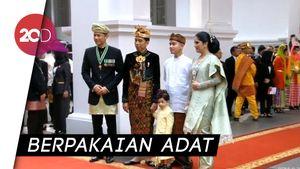 Beda Gaya Jokowi, Jan Ethes hingga AHY di HUT ke-74 RI