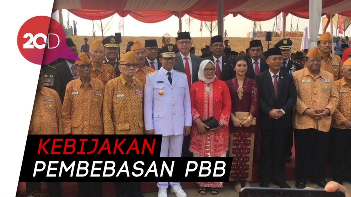HUT ke-74 RI, Anies: Jakarta Kota yang Hargai Pejuang