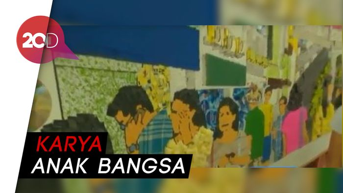Manjakan Mata, Ada Pameran Seni Kejar di Stasiun MRT Dukuh Atas