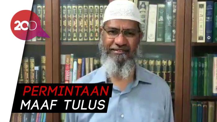 Ulama Zakir Naik Minta Maaf atas Pernyataan Memicu Polemik