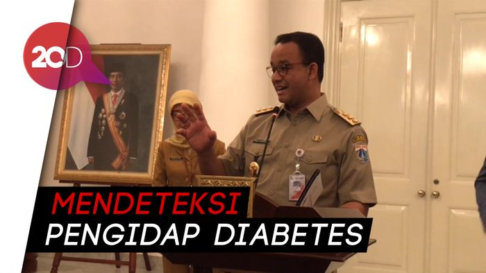 Pemprov DKI Gandeng Perusahaan Denmark untuk Tekan Pengidap Diabetes