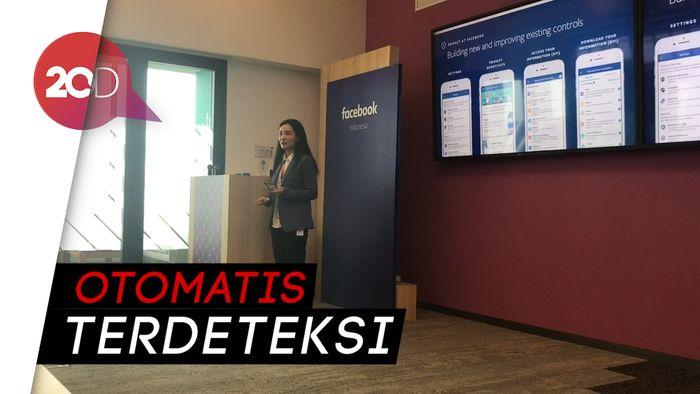 Facebook Gunakan Teknologi AI untuk Saring Konten Negatif
