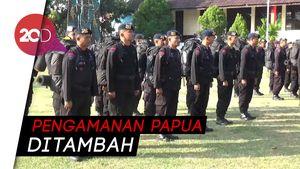 200 Personel Brimob Polda Sulsel Diberangkatkan ke Papua