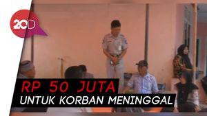Santunan Rp 50 Juta untuk Keluarga Korban Tewas di Tol Cipularang