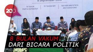Malam Ini, SBY Gelar Pidato Kontemplasi dan Doa untuk Bu Ani