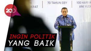 SBY Nilai Demokrasi Tidak Harus One Person One Vote