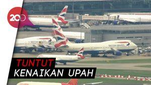 Pilot Mogok, British Airways Batalkan Hampir Semua Penerbangan