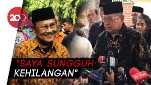 SBY: Hubungan Saya dan Habibie Makin Dekat Setelah Bu Ani Berpulang