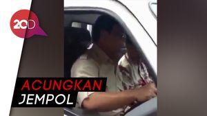 Ramai di Medsos Prabowo Jajal Esemka