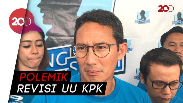 Sandi Setuju Ada SP3, Tolak Izin Penyadapan KPK