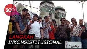 Jokowi-DPR Dinilai Inkonstitusional Bila Sahkan Revisi UU KPK