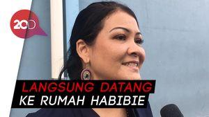 Makam Habibie Berjubel Peziarah Selfie, Melanie Subono Ajak ke Tahlilan