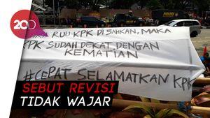 PB HMI Serukan Seluruh Cabang se-Indonesia Demo Tolak Revisi UU KPK