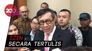 Penyadapan KPK Perlu Izin Dewas, Yasonna Singgung Abuse of Power
