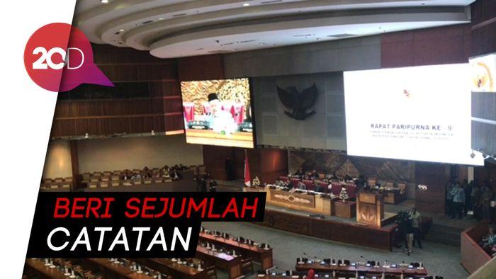 Revisi UU KPK Sah, Gerindra-PKS Kompak Beri Catatan