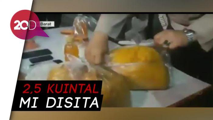 Pabrik Mi Berformalin di Cianjur Digerebek, 7 Orang Diringkus!