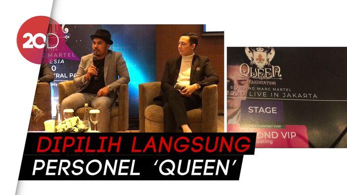 Marc Martel, Penjelmaan Freddie Mercury yang Siap Guncang Jakarta
