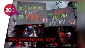 Tolak Revisi UU KPK, Mahasiswa Gelar Mosi Tak Percaya DPR & Pemerintah