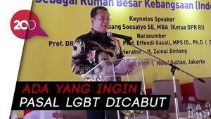 Bamsoet Sebut DPR Dapat Tekanan Pihak Asing untuk Cabut Pasal LGBT