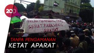 Massa Aksi Gejayan Memanggil Tolak Revisi UU KPK