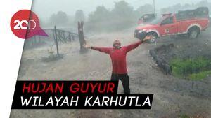 Dua Kabupaten di Jambi Diguyur Hujan, Satgas Karhutla Kegirangan