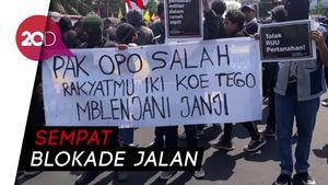#BengawanMelawan, Mahasiswa Solo Geruduk DPRD Tolak Revisi UU KPK