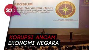 Prabowo: Mungkin Korupsi Menurun, Makannya Dilakukan Revisi UU KPK