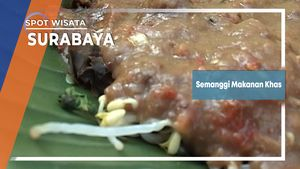 Pecel Semanggi Sarapan Khas Surabaya