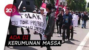 Ikut Aksi Demo di Trenggalek, Dua Pelajar Diamankan