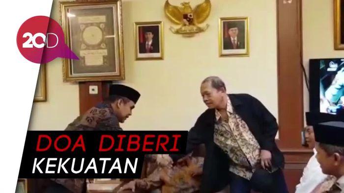 Datangi PBNU, Muzani Minta Doa Said Aqil Jelang Pemilihan Ketua MPR