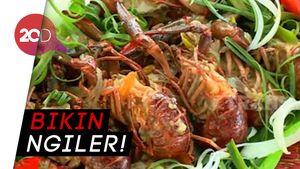 Auto Lapar! Masakan Lobster Air Tawar yang Dipadu Sambal Kecap