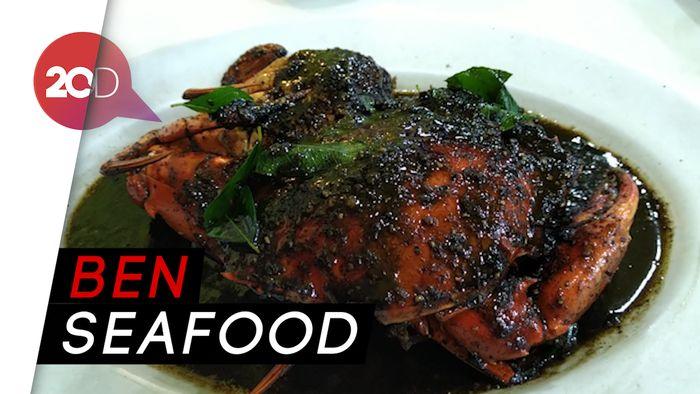 Mantap! Pesta Kepiting dan Ikan Kuwe Bakar yang Menggugah Selera