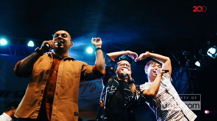 Kahitna Bikin Baper Penonton di Festival Toyota Sebangsa Semarang