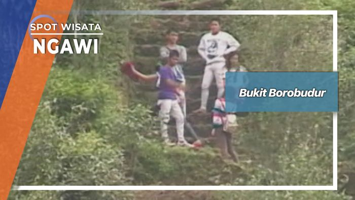 Bukit Borobudur Di Kebun Teh Desa Jamus Sine Ngawi