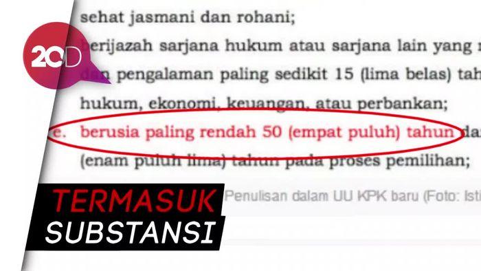 Revisi UU KPK Ada Typo, PSHK: Harus Dibahas Ulang