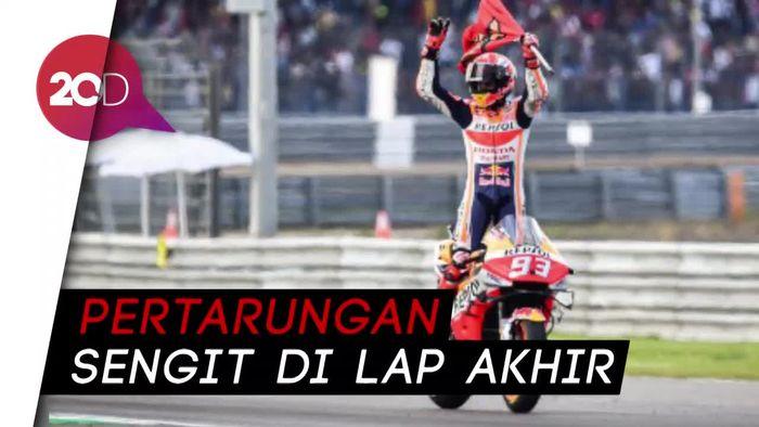 Hasil MotoGP Thailand: Marquez Juara Dunia 2019