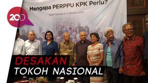Jokowi Didesak Segera Terbitkan Perppu KPK