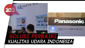 Panasonic Kenalkan Konsep Quality Air For Life di Pameran R&HVAC; 2019