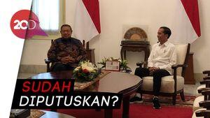 Bertemu di Istana, Jokowi-SBY Bahas Peluang Gabungnya Demokrat ke Pemerintah